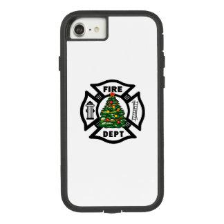 Navidad del bombero funda tough extreme de Case-Mate para iPhone 7