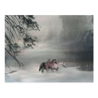 Navidad del caballo, postales del día de fiesta