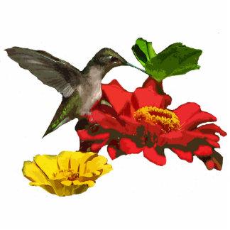 Navidad del colibrí que cuelga el acrílico escultura fotográfica