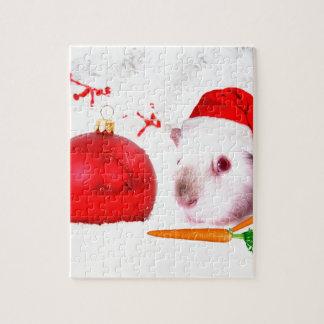 Navidad del conejillo de Indias Puzzle