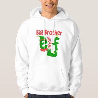 Navidad del duende de hermano mayor sudadera