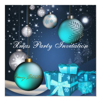 Navidad del fiesta de Navidad de la invitación