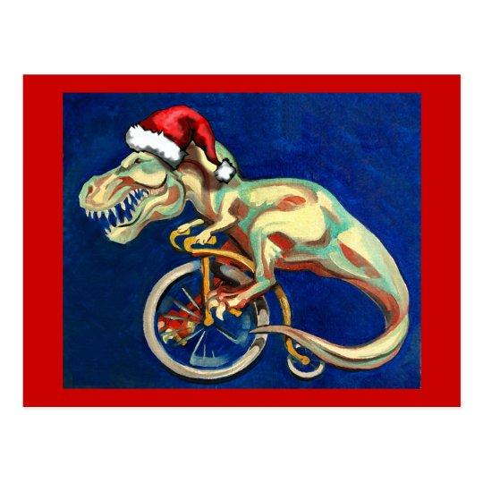 Navidad del inconformista de T-Rex Postal