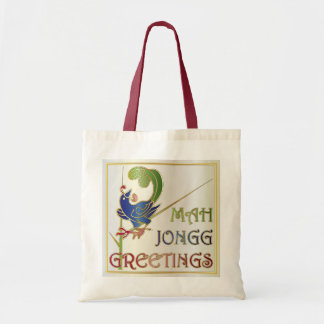 Navidad del Mah Jongg un bolso del Bam Bolsas De Mano