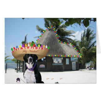 Navidad del mexicano de Chrysie Tarjeta De Felicitación