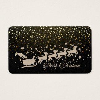Navidad del navidad tarjeta de negocios