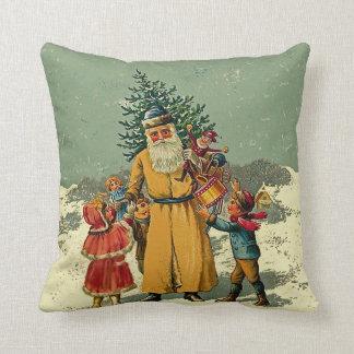 Navidad del padre almohadas