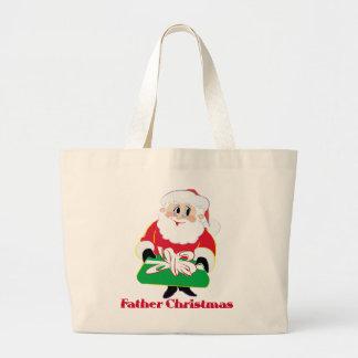 Navidad del padre bolsa