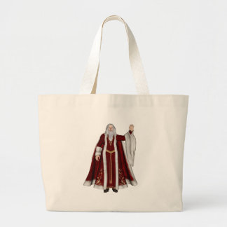 Navidad del padre bolsas de mano