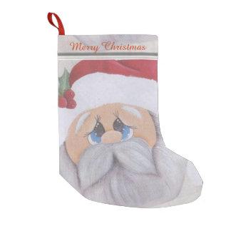 Navidad del padre calcetín de navidad pequeño