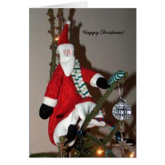Navidad del padre de la tarjeta de Navidad