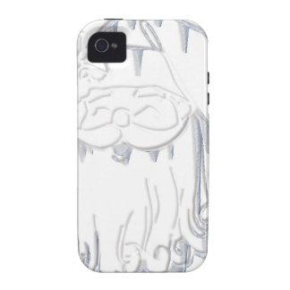 Navidad del padre Case-Mate iPhone 4 carcasas