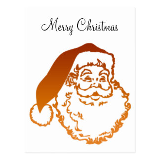 Navidad del padre postal