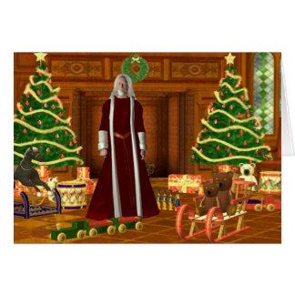 Navidad del padre tarjeta de felicitación