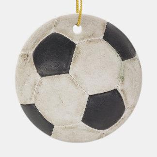 Navidad del regalo de los jugadores de fútbol de adorno de cerámica
