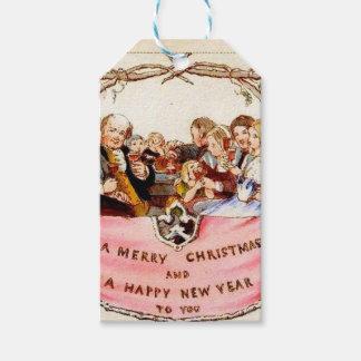 Navidad del Victorian Etiquetas Para Regalos