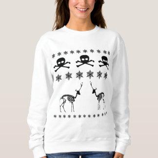 Navidad/diseño del invierno sudadera