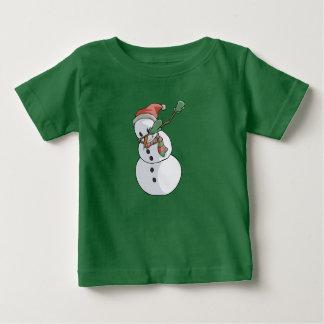 Navidad divertido de la camiseta del muñeco de