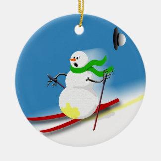 Navidad divertido del día de fiesta de las ideas adorno de cerámica
