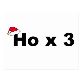 Navidad divertido Ho Ho Ho Tarjetas Postales