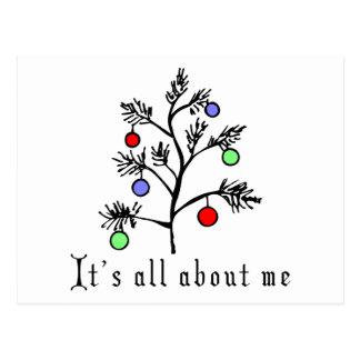 Navidad divertido postales