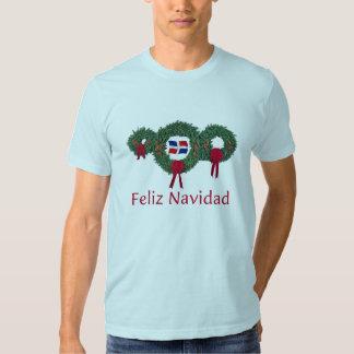 Navidad dominicano 2 camisetas