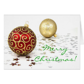 Navidad en I inglés Tarjeta De Felicitación