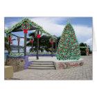 Navidad en tarjeta del puerto