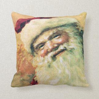 Navidad feliz del vintage de Santa Cojín