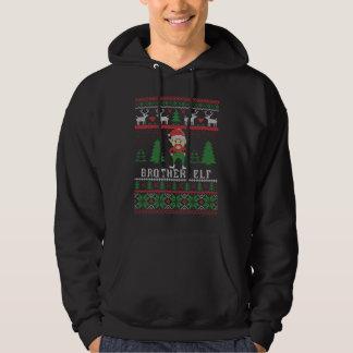 Navidad feo del duende de Brother Sudadera