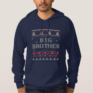 Navidad feo mayor de hermano sudadera