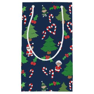 navidad festivo bolsa de regalo pequeña