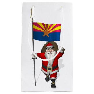 Navidad festivo del padre que visita Arizona Bolsa De Regalo Pequeña