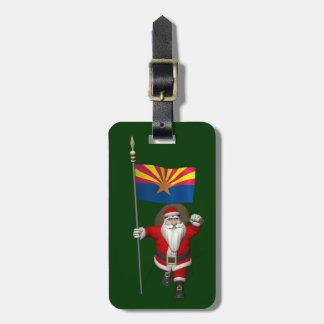 Navidad festivo del padre que visita Arizona Etiquetas Para Maletas