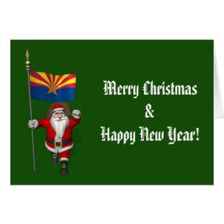Navidad festivo del padre que visita Arizona Tarjeta De Felicitación