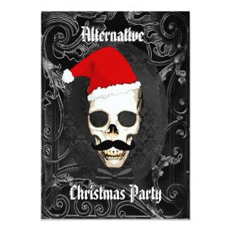 Navidad gótico divertido alternativo invitación 12,7 x 17,8 cm