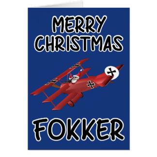 Navidad grosero tarjeta de felicitación