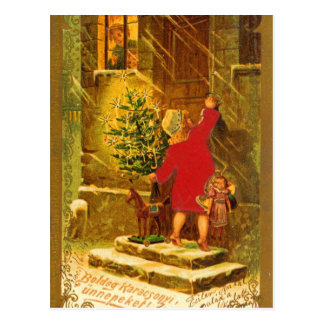 Navidad húngaro a partir de 1896 postales