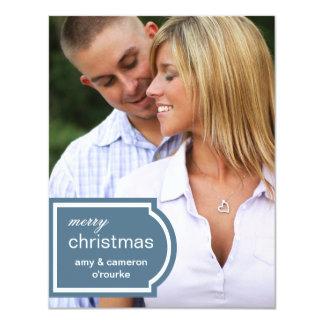 Navidad marcado con etiqueta de la foto comunicado