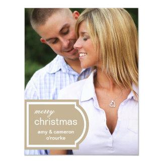 Navidad marcado con etiqueta de la foto Tarjeta-de Invitacion Personal