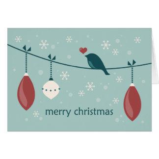 Navidad moderno tarjeta de felicitación