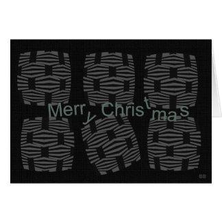 Navidad moderno tarjeta pequeña