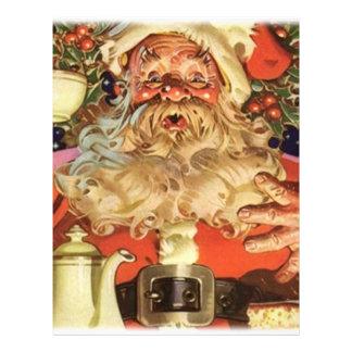 Navidad Papá Noel Folleto 21,6 X 28 Cm
