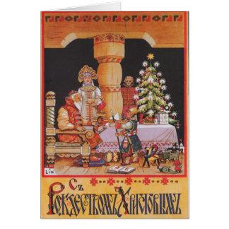 Navidad personalizado en tarjeta de Navidad de