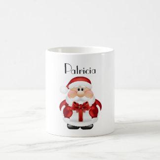 Navidad personalizado Morphing la taza/Papá Noel Taza Mágica
