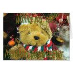 Navidad-personalizar de TeddyBear Felicitacion