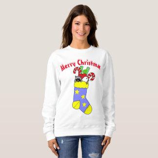 Navidad que almacena Felices Navidad Sudadera