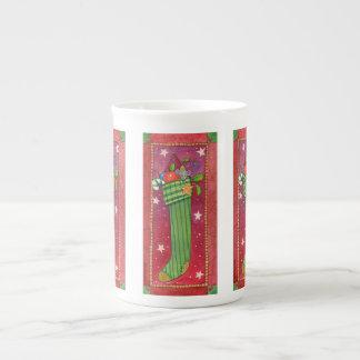 Navidad que almacena la taza
