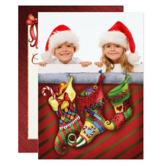 Navidad que almacena por completo de tarjeta de la