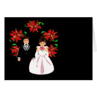 Navidad que casa los pares I con la guirnalda Tarjeta